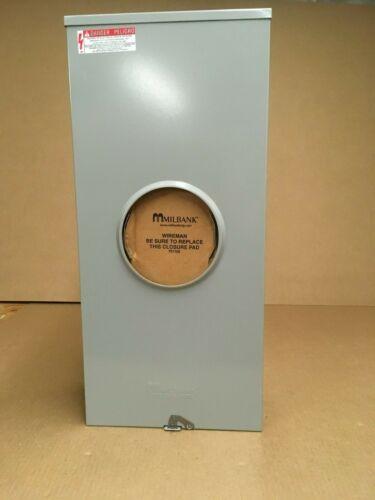 Milbank 320-Amp Ringless Single Phase (120/240) Meter