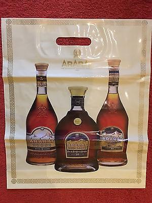 Plastiktüte orig. Ararat Cognac Armenien Rarität, oder nicht?