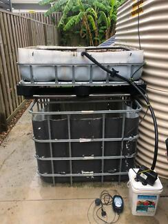 Aquaponic / Hydroponic Growing Bed System