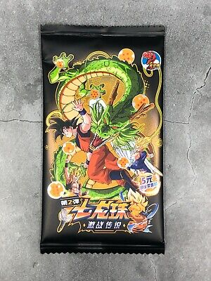 Super Dragon Ball Heros Heroes DBZ FOIL HOLO TCG Trading Card Game Booster Pack