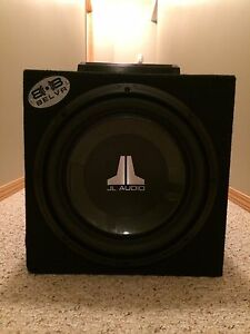 12 inch JL sub with Kenwood amp