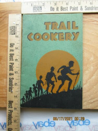 girl scouts trail cookery booklet kellogg