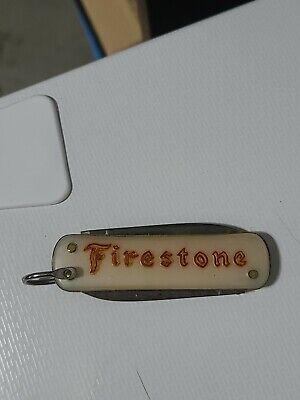 Vintage Firestone Advertising Celluloid Pocket Knife