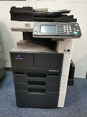 Konica Minolta Bizhub 222 Copier Printer Scanner Fax