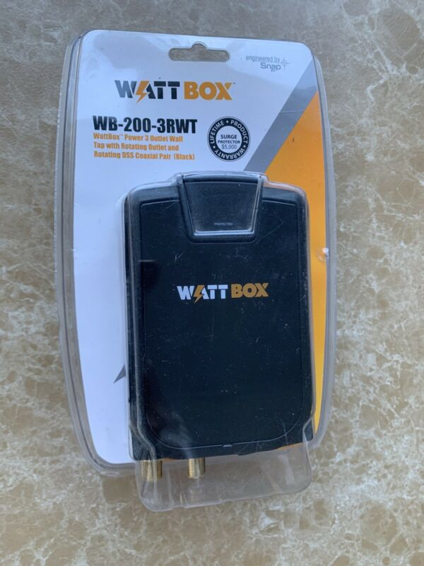 WATT BOX WB-200-3RWT NEW FACTORY SEALED