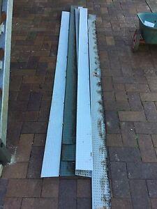 Metal gutter guard, 12 lengths,  2.5m long, one at 1.94m Baulkham Hills The Hills District Preview