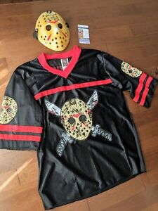 Jason Voorhees mask signed by Kane Hodder + Friday13th Jersey