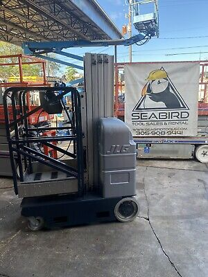 2008 Jlg 20mvldriveable Vertical Mast Lift Low Hours  Aerial Lift Will Ship
