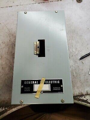 New Ge 100 Amp Surface Mount Circuit Breaker Enclosure 600 Vac Te100s