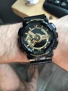 Gold Casio G-shock