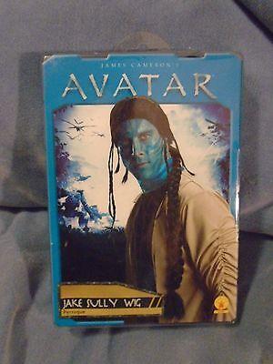 James Cameron Avatar Jake Sully Halloween Costume Wig NIP