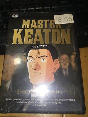 Master Keaton Vol. 6 FAKERS & FIENDS DVD 2004-BRAND NEW-Fast Ship! OD-001