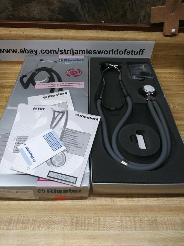 Riester Stethoscope 4250-02 ri-rap 40cm Made In Germany (BB)