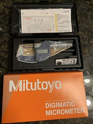 Mitutoyo 293-831-30 0-1 Digimatic Micrometer Mdc - Lite Ratchet No Spc .0005