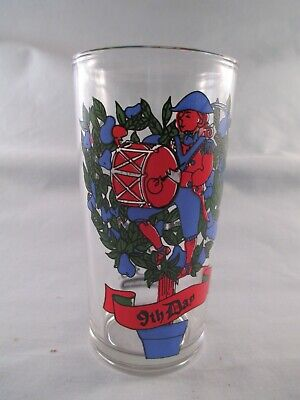 RC Cola And Pepe's Mexican Restaurant 12 days of Christmas Glass 9th Day
