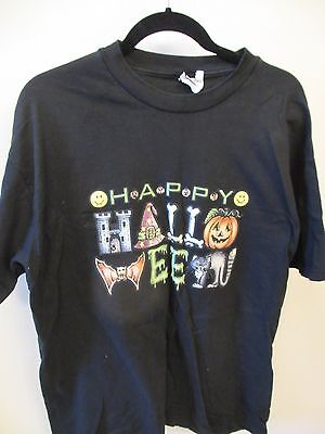 HALLOWEEN THEMED SHIRTs - WOMENS - TURTLE NECK - COSTUME - PUMPKINS - XL . qty 2