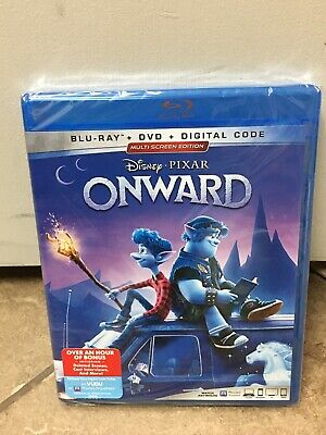ONWARD (Blu-ray + DVD + Digital,2020)