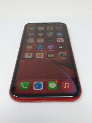 Apple IPhone XR PRODUCT RED - 64GB - AT T A1984 CDMA GSM V12 - $280.00
