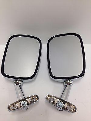 Mirrors chrome fairing GL500 81-82 Silverwing Honda motorcycle motorbike