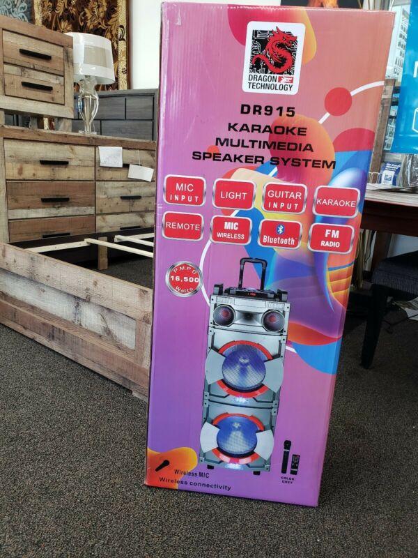 wireless bluetooth mic karaoke speakers