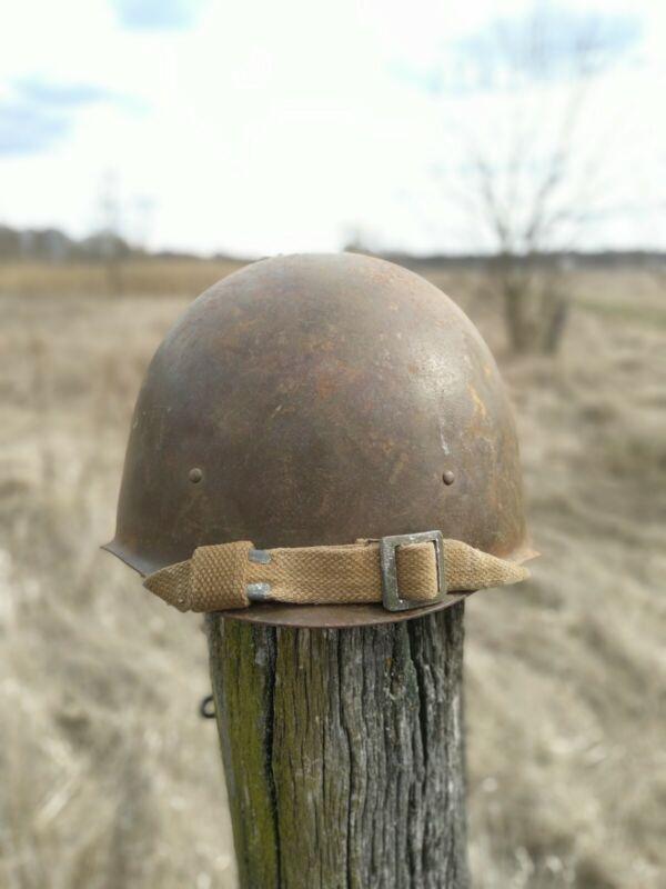 Helmet Steel SSh 40 WWII Original Russian Military Soviet Army RKKA WW2