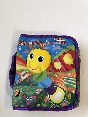 Lamaze Cloth Soft Book Shine-a-light, Freddie Infant Plush  Crinkle Baby Toy