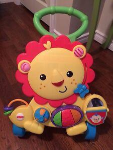 Fisher Price Musical Lion Walker - like new