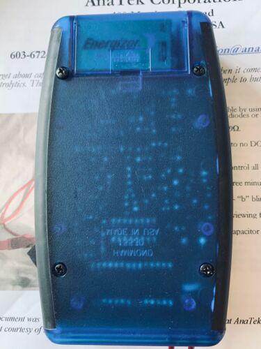 The Blue Esr Meter capacitor tester