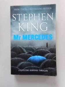 Mr Mercedes Stephen King Murder Suspense Homicide Detective Carindale Brisbane South East Preview