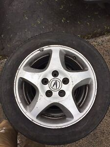 2002 acura rsx summer tires with rims