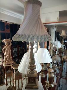 vintage cast metal old desc table lamp Concord West Canada Bay Area Preview