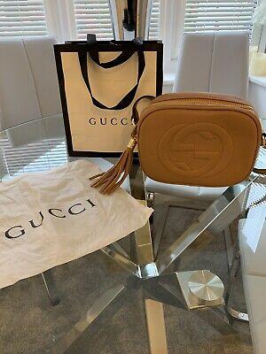 Gucci Soho Disco Bag Tan / Rose Beige