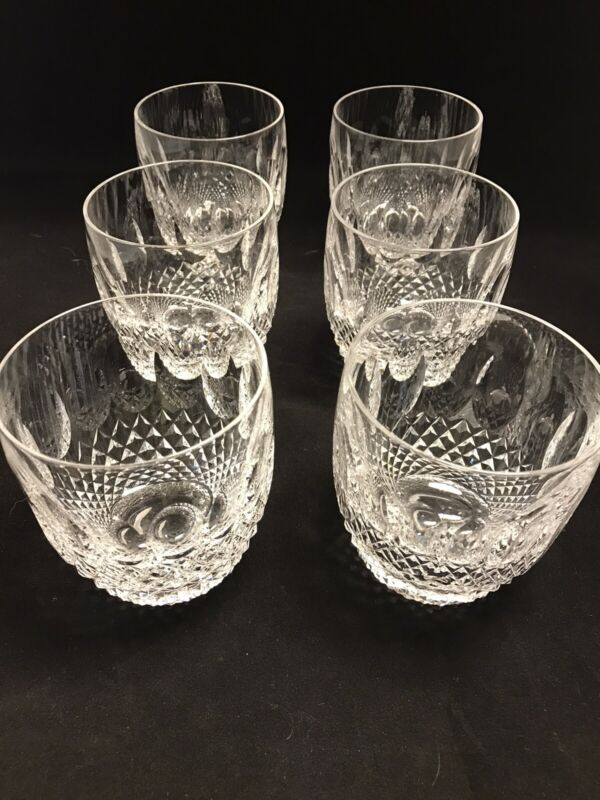 6 Waterford Colleen Old Fashion/Whiskey Tumblers