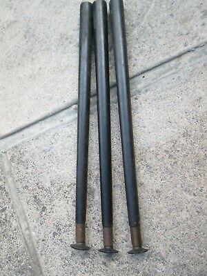 x3 vintage 60`s black Dansette legs 15