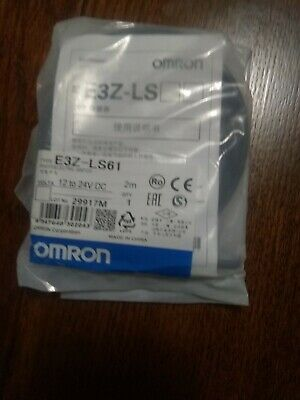 New Omron E3z-ls61 E3zls61 Pre-wired Photoelectric Switch Sensor