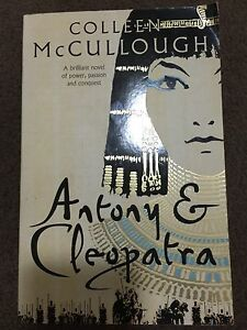 Colleen McCullough novel book - Antony & Cleopatra Hillcrest Logan Area Preview
