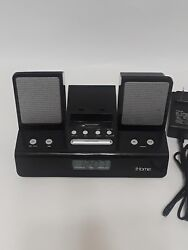 iHome Ih110 Alarm Clock Speaker Radio 30-pin Docking Station iPod iPhone