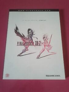 guide officiel complet squaresoft FINAL FANTASY 13 - 2 XIII-2 français