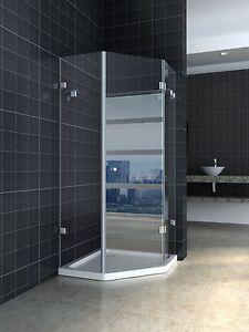 900X900 10mm frameless toughen glass shower screen Galston Hornsby Area Preview