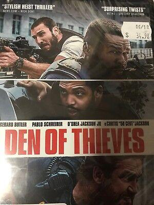 Den Of Thieves (2018) (DVD) (Region 4) New/Sealed 50 cent / O'shea Jackson