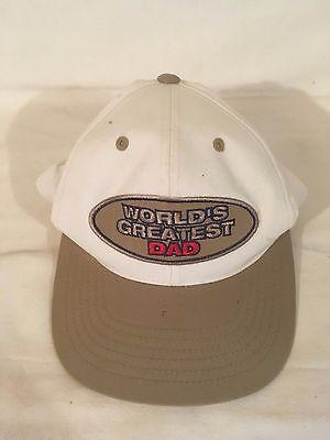 Worlds greatest Dad baseball hat