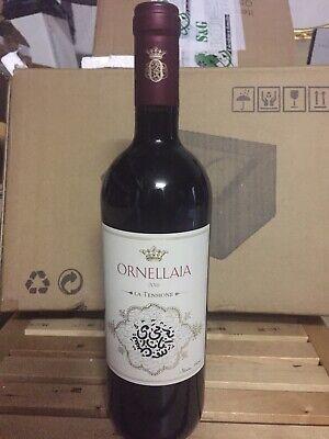 """Ornellaia 2016 """"La Tensione"""" vino rosso Bolgheri"""