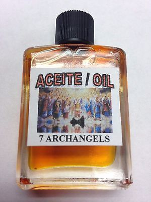 MYSTICAL / SPIRITUAL OIL ACEITE FOR SPELLS & ANOINTING 1/2 OZ THE 7 ARCHANGELS