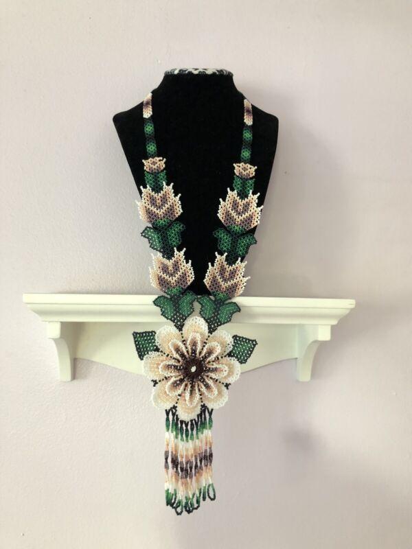 huichol handmade necklaces