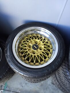 Simmons wheels v4 Mazda rx2 rx3 rx4 rx7  Clontarf Redcliffe Area Preview