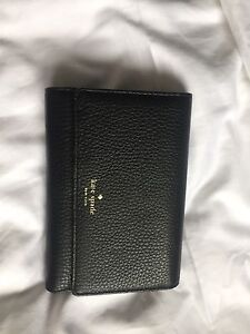 Kate Spade Wallet (Black, Medium Sized)