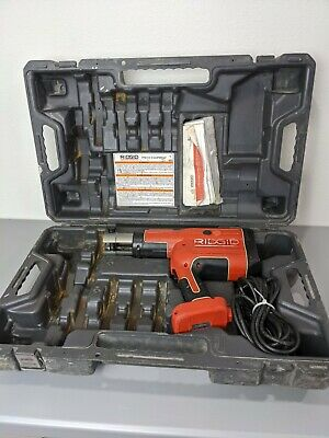 Ridgid Rp 330-c Corded Press Crimp Tool With Case Rp330 No Jaws