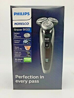 Philips Norelco 9100 Cordless Electric Shaver w/ Precision Trimmer S9161/83