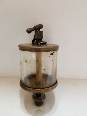 Brass Hit And Miss Engine Oiler Penberthy Injector Company Sentry No. 4