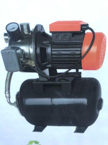 1HP Jet Water Pump Stainless Steel Head w/Tank